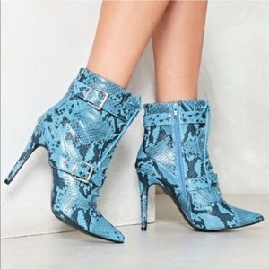 Snake My Day Booties